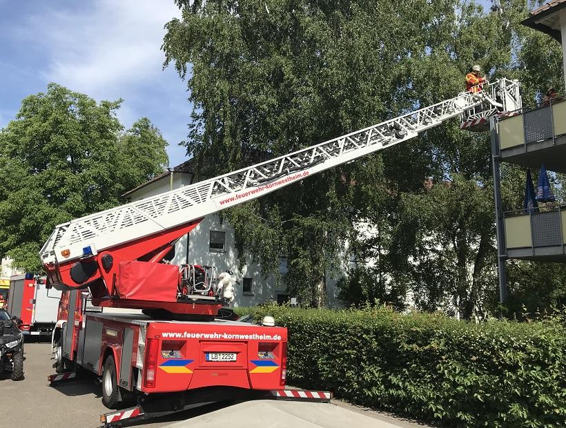 H1 vom 26.05.2018  |  © Dokumentation Feuerwehr Kornwestheim (2018)